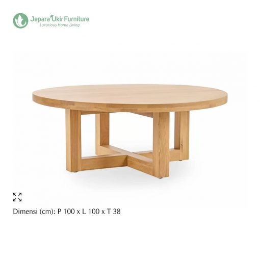 Bronte Natural Coffee Table